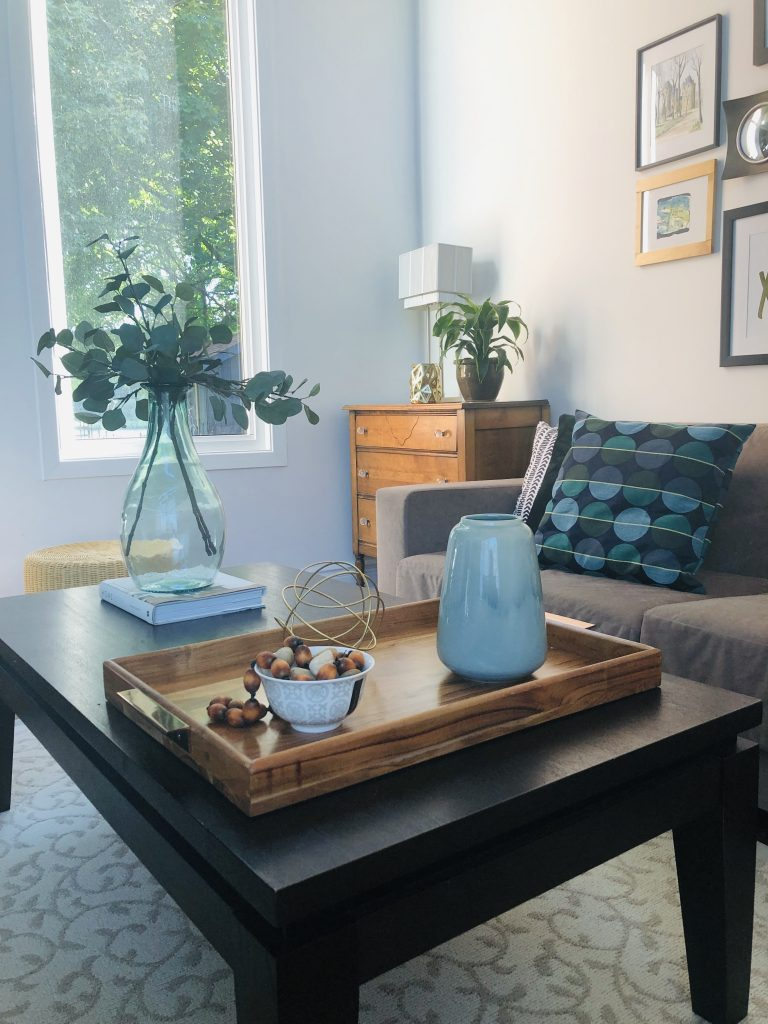 This tray from @Homesense was a nice addition to corral accessories