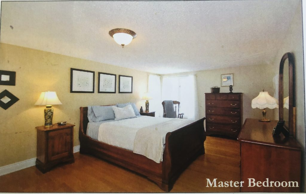 This was the principle bedroom when we bought our house