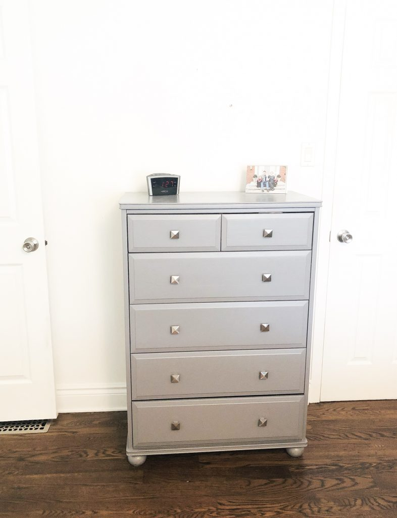 This dresser works well for me and will also stay as is.