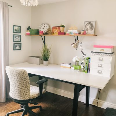 A Girly Home Office