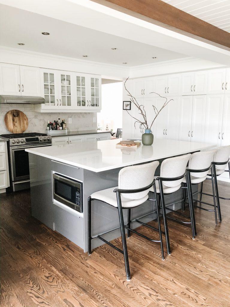 An Ikea Kitchen Island That Functions Beautifully River Studio Design