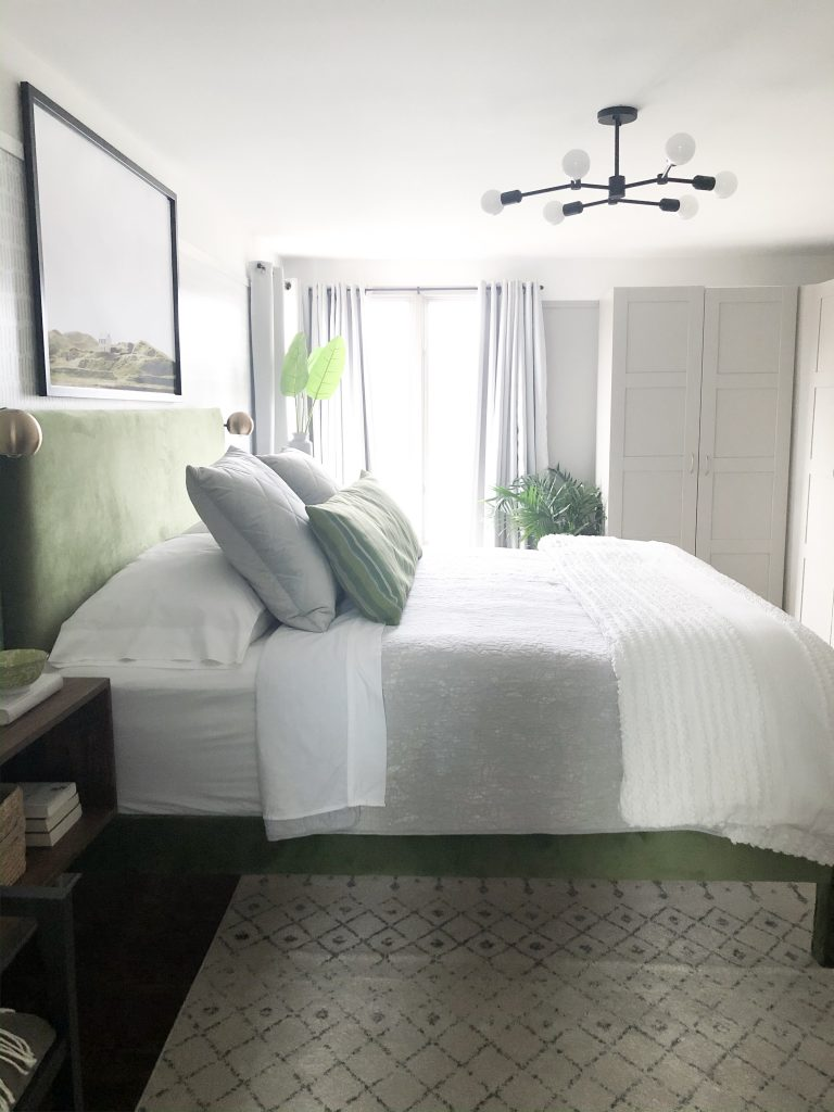 Revealing our master bedroom update as part of the ORC