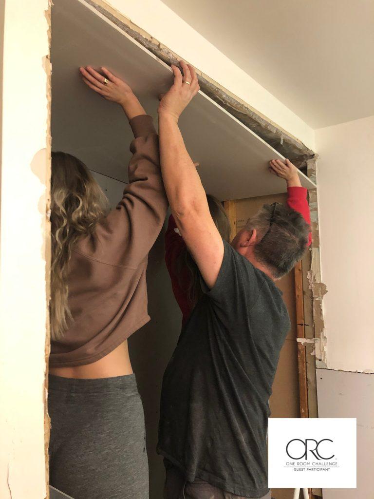 Help rebuilding the family bathroom