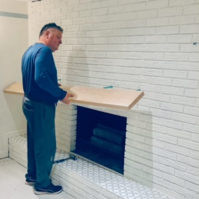 The Fireplace: One Room Challenge Week Five